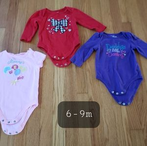 Other - Baby Girl Bodysuits
